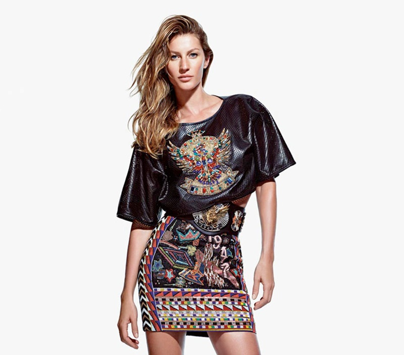 emilio pucci spring 2014 campaign1 More Photos of Gisele Bundchen in Emilio Puccis Spring 2014 Ads