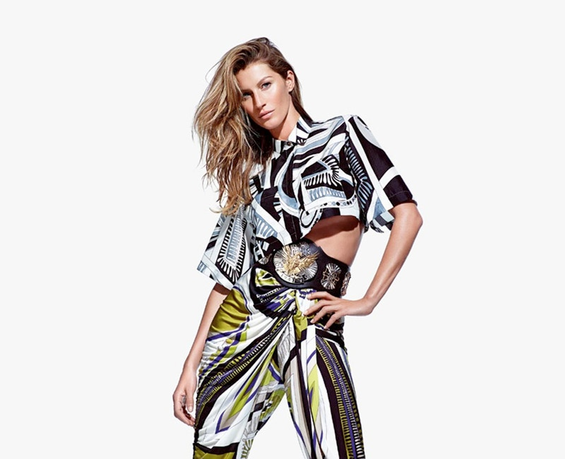 More Photos of Gisele Bundchen in Emilio Pucci's Spring 2014 Ads