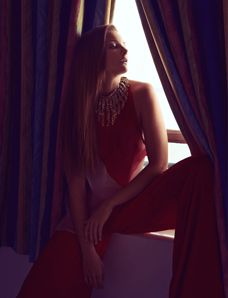 eniko mihalik koray birand11 Eniko Mihalik Charms for Koray Birand in Vogue Mexico Shoot