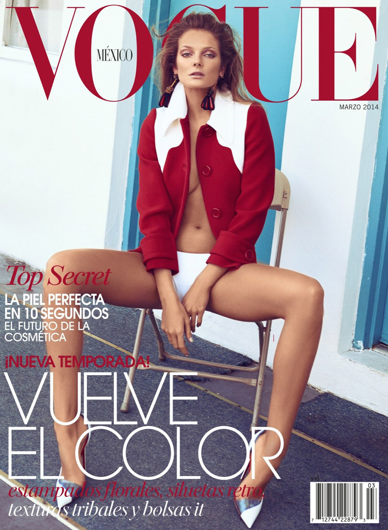 eniko mihalik koray birand14 Eniko Mihalik Charms for Koray Birand in Vogue Mexico Shoot