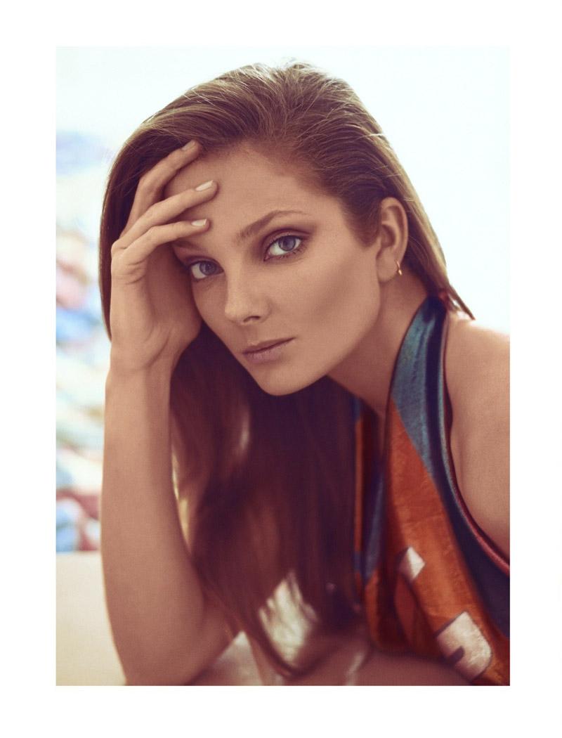 Eniko Mihalik Charms for Koray Birand in Vogue Mexico Shoot