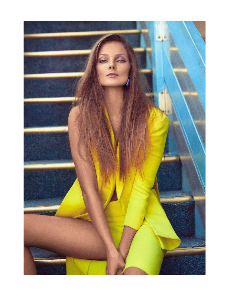 eniko mihalik koray birand9 Eniko Mihalik Charms for Koray Birand in Vogue Mexico Shoot