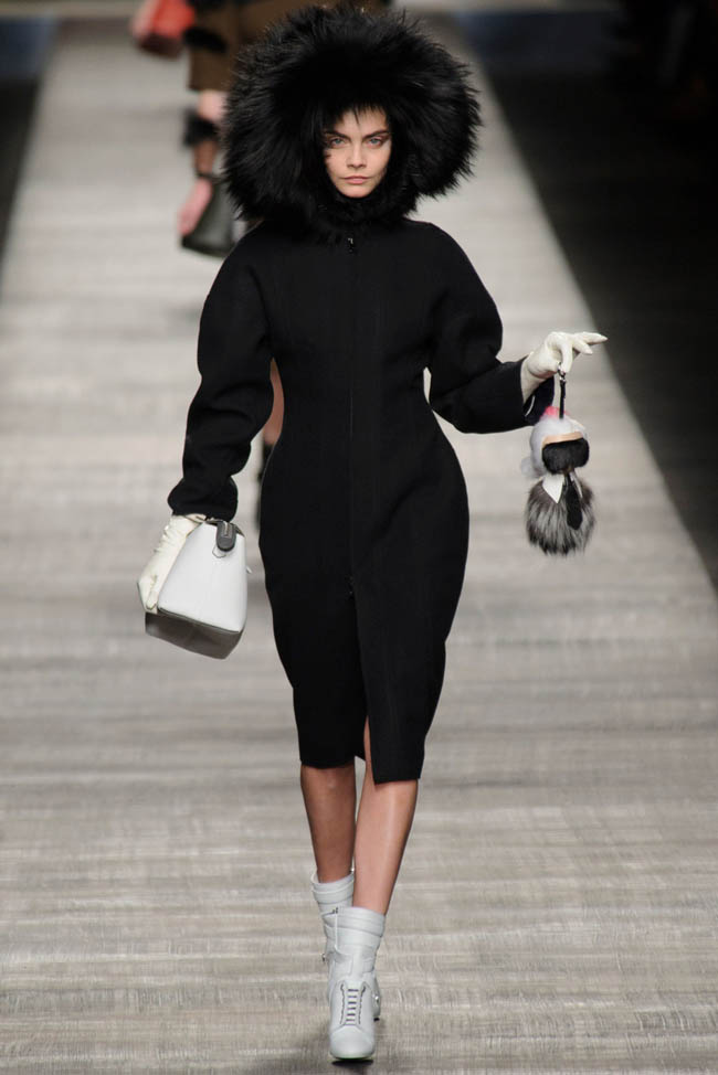 fendi fall winter 2014 show1 Fendi Fall/Winter 2014 | Milan Fashion Week