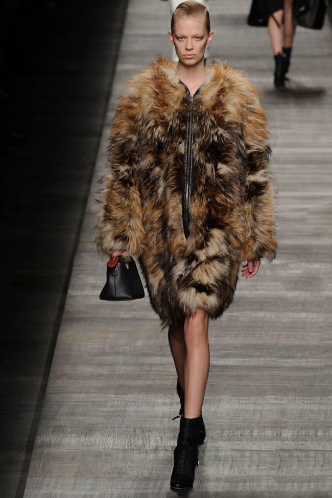 fendi fall winter 2014 show30 Top 5 Fall/Winter 2014 Trends From Paris, London, New York & Milan
