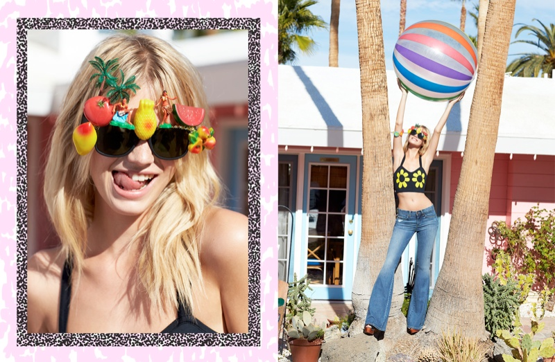 festival lookbook nasty gal1 Nadine Leopold Gets Ready for Festival Season with Nasty Gal Shoot