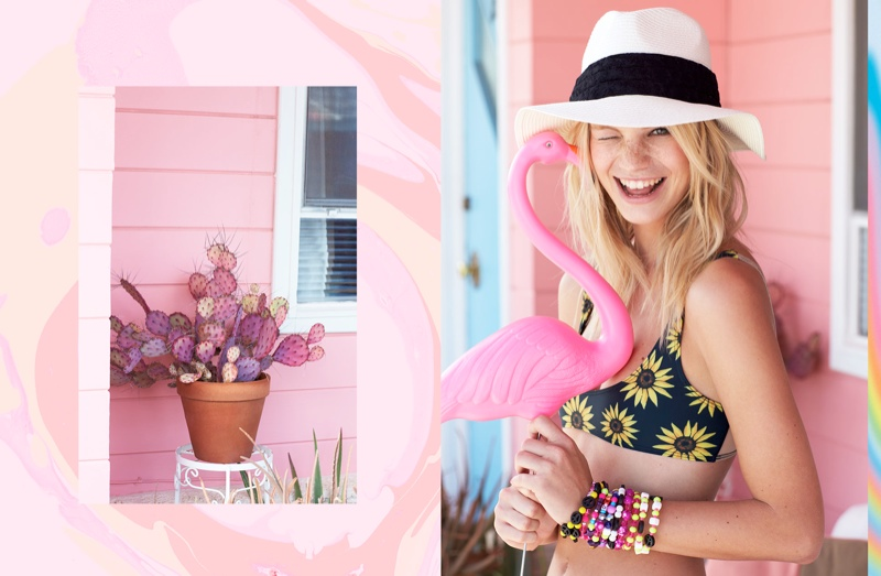 Nadine Leopold Gets Ready for Festival Season with Nasty Gal Shoot