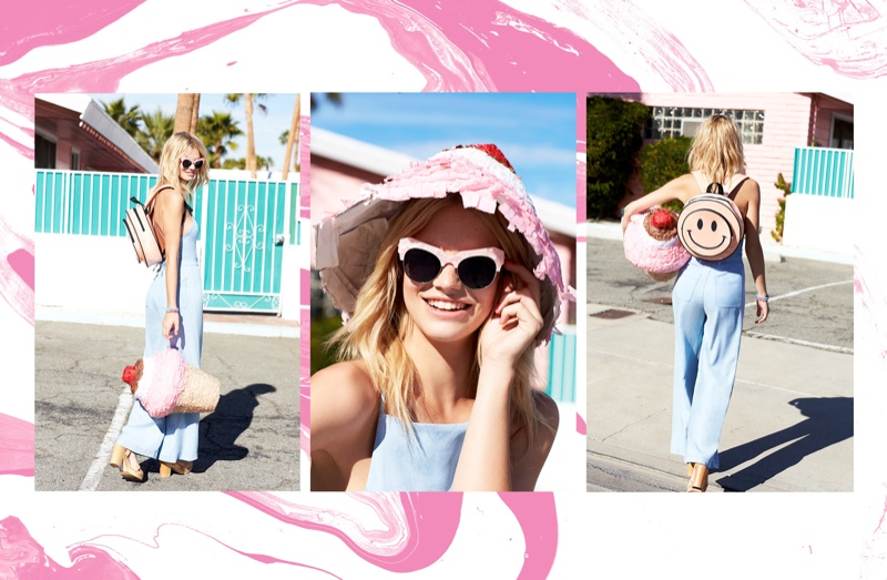 festival lookbook nasty gal4 Nadine Leopold Gets Ready for Festival Season with Nasty Gal Shoot