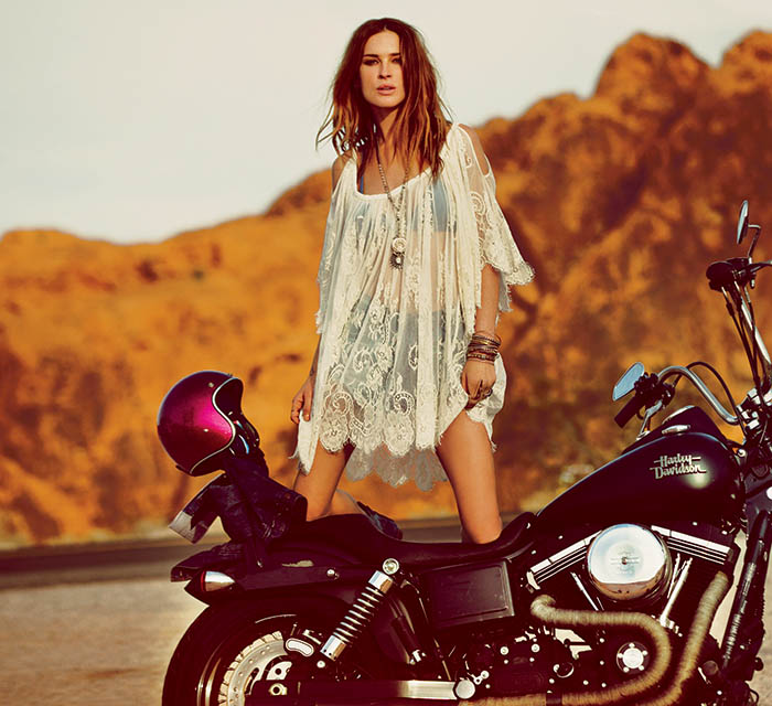 free people wedding13 Erin Wasson Has a Vegas Wedding in Free Peoples March Lookbook