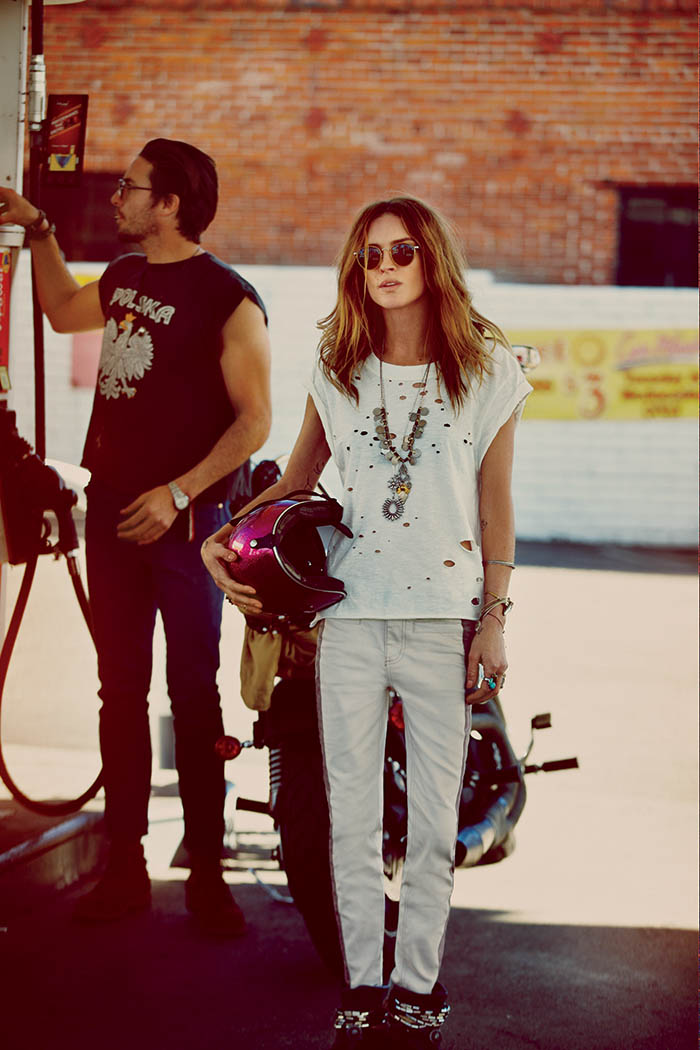 free people wedding2 Erin Wasson Has a Vegas Wedding in Free Peoples March Lookbook