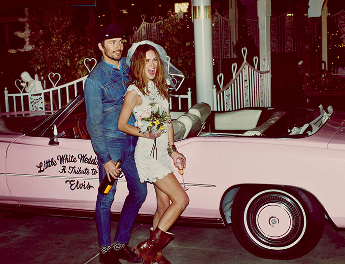 free people wedding9 Erin Wasson Has a Vegas Wedding in Free Peoples March Lookbook