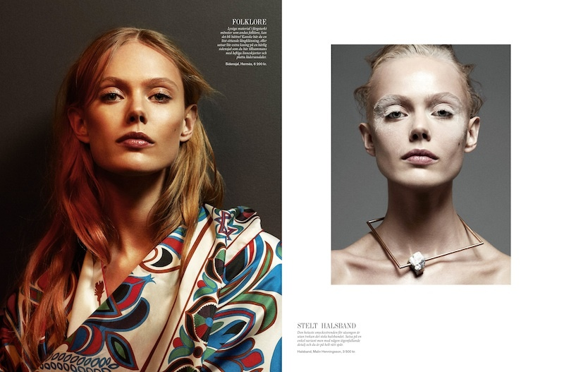 Frida Gustavsson Stars in Styleby #23 Cover Story by Andreas Öhlund