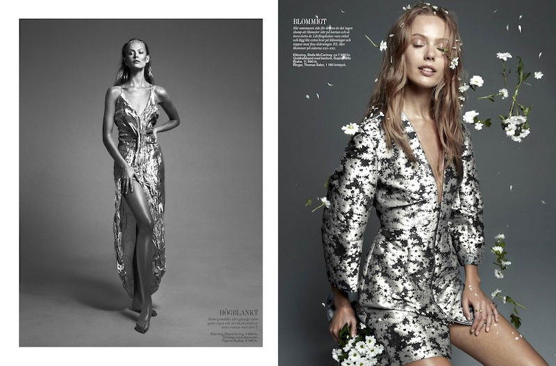 frida styleby shoot7 Frida Gustavsson Stars in Styleby #23 Cover Story by Andreas Öhlund