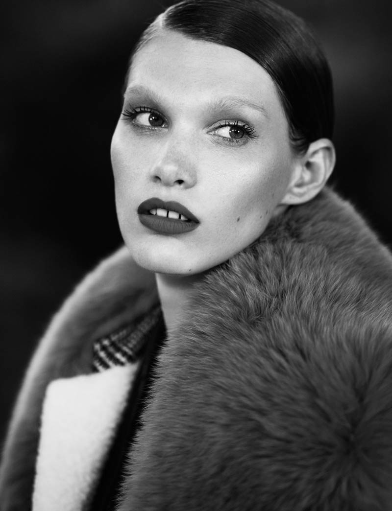 fur real411 Irina Nikolaeva is Fur Real for EXIT Magazine by Jens Langkjaer