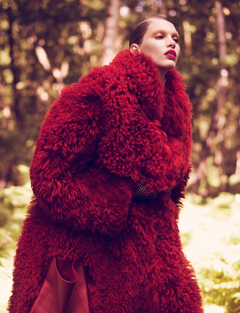 fur real42 Irina Nikolaeva is Fur Real for EXIT Magazine by Jens Langkjaer