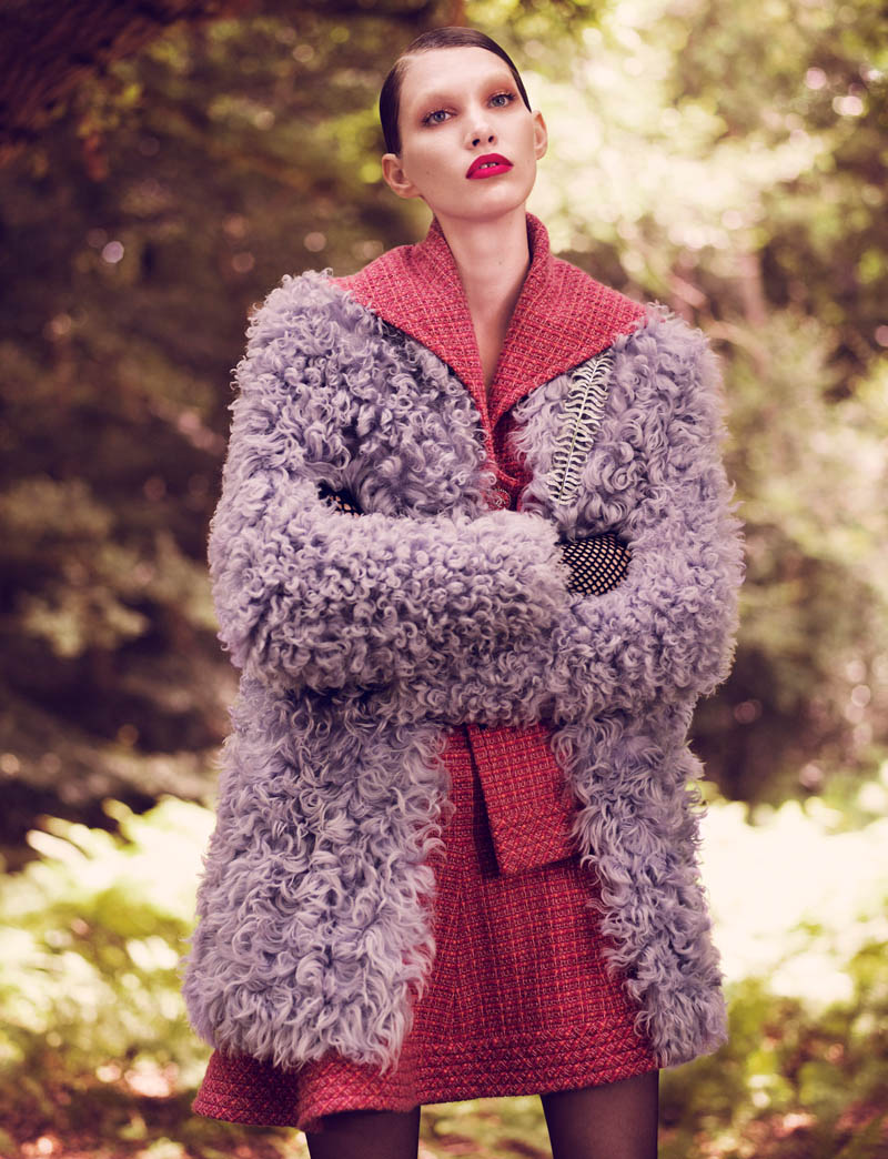 fur real43 Irina Nikolaeva is Fur Real for EXIT Magazine by Jens Langkjaer