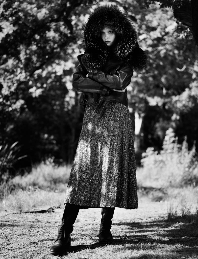 fur real47 Irina Nikolaeva is Fur Real for EXIT Magazine by Jens Langkjaer