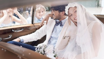 Sasha Pivovarova Stars in Wedding for Gant Spring/Summer 2014 Campaign