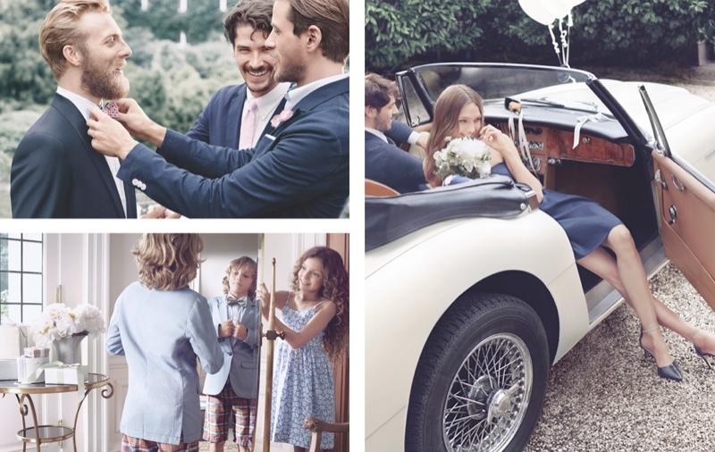 gant spring 2014 campaign2 Sasha Pivovarova Stars in Wedding for Gant Spring/Summer 2014 Campaign