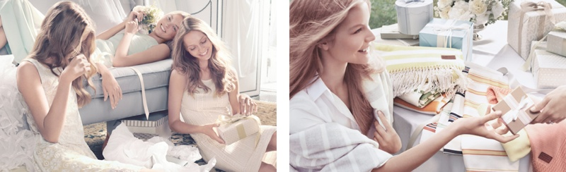gant spring 2014 campaign4 Sasha Pivovarova Stars in Wedding for Gant Spring/Summer 2014 Campaign