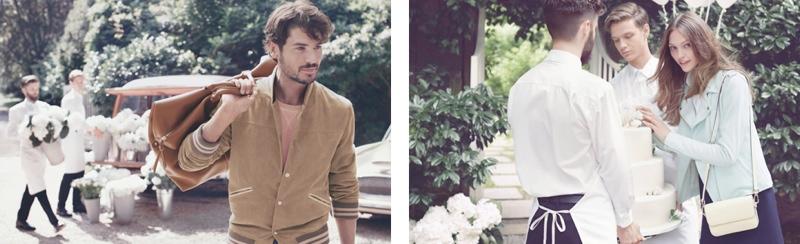 gant spring 2014 campaign5 Sasha Pivovarova Stars in Wedding for Gant Spring/Summer 2014 Campaign
