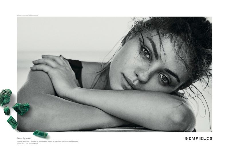 Mila Kunis Returns for Gemfields' 2014 Campaign