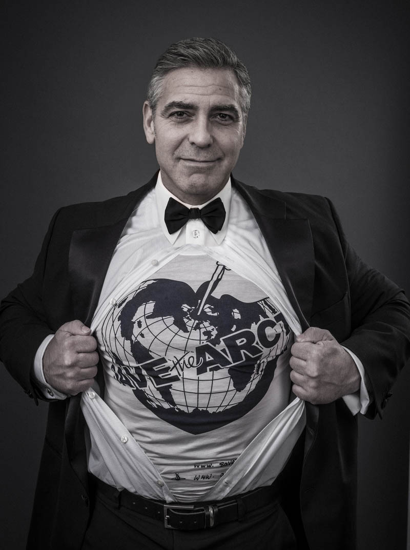 george clooney Vivienne Westwood Enlists Georgia May, Jerry Hall + More for 'Save the Arctic' Campaign