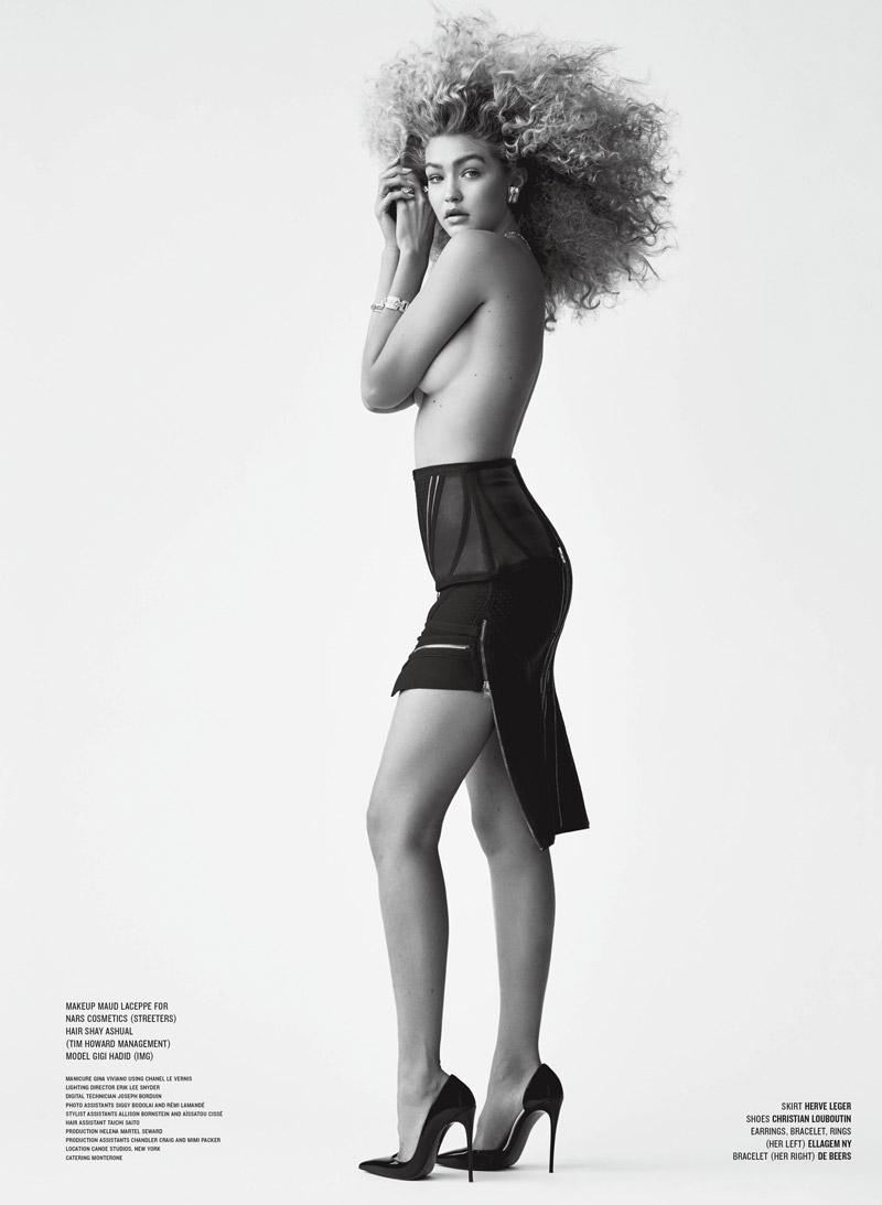 Gigi Hadid Makes V Magazine Debut in Glamorous Shoot