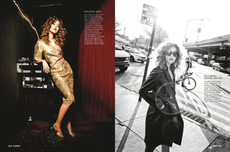 glamour ellen von unwerth19 Martha, Camilla + Henriett Live it Up for Glamour Germany by Ellen Von Unwerth