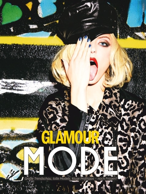 glamour ellen von unwerth2 Martha, Camilla + Henriett Live it Up for Glamour Germany by Ellen Von Unwerth