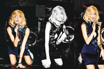 Martha, Camilla + Henriett Live it Up for Glamour Germany by Ellen Von Unwerth