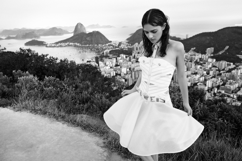 Melanie Werner Heads to Rio for Grazia Germany Shoot