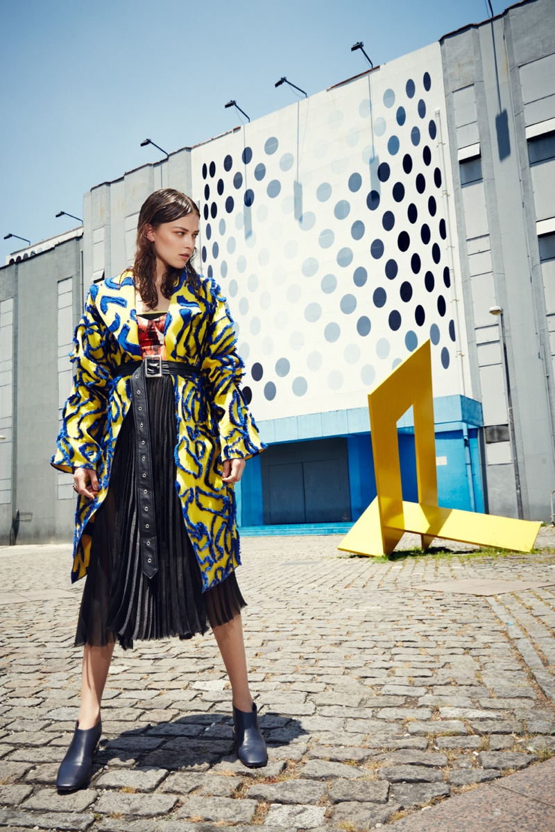grazia rio11 Melanie Werner Heads to Rio for Grazia Germany Shoot