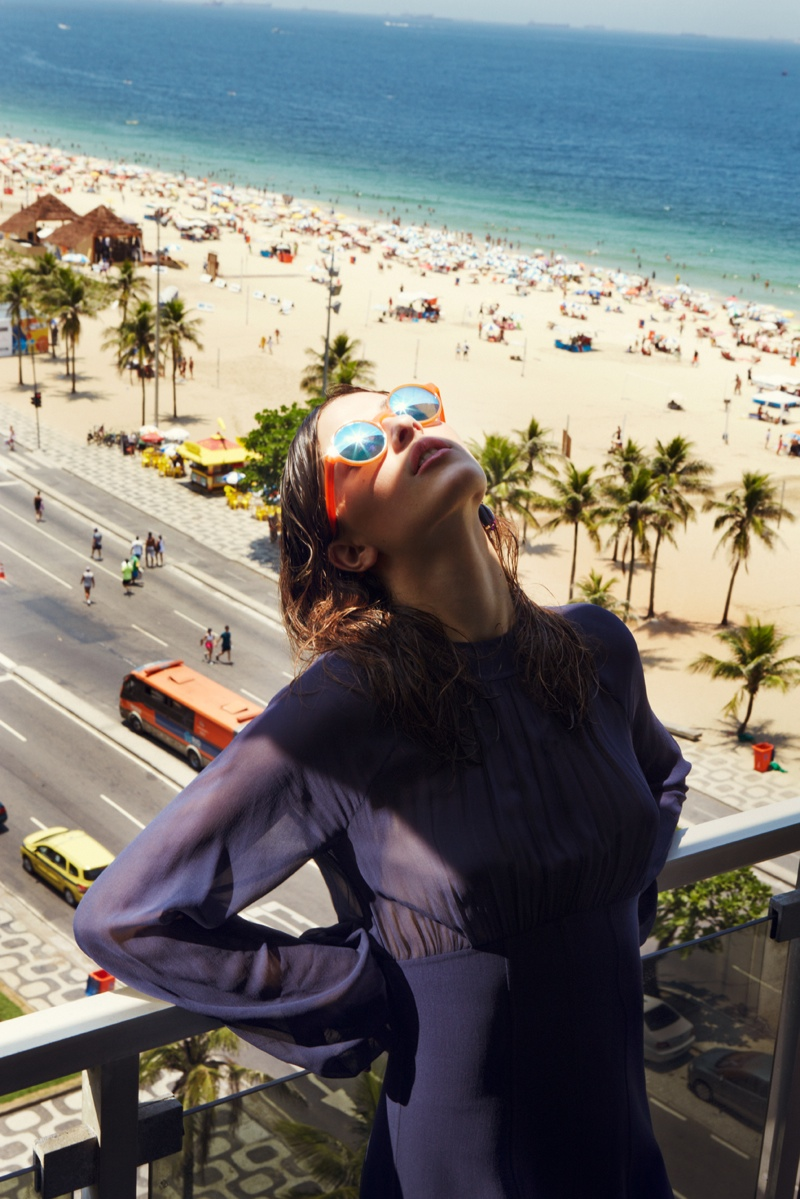 grazia rio3 Melanie Werner Heads to Rio for Grazia Germany Shoot
