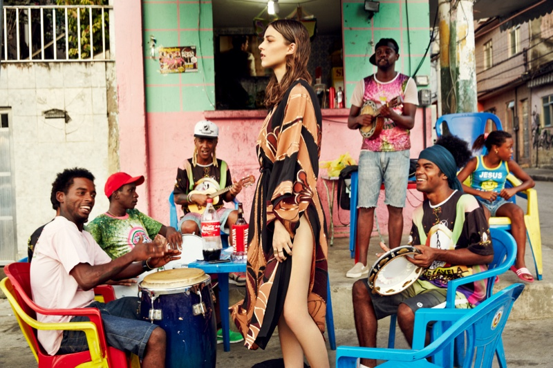 grazia rio5 Melanie Werner Heads to Rio for Grazia Germany Shoot