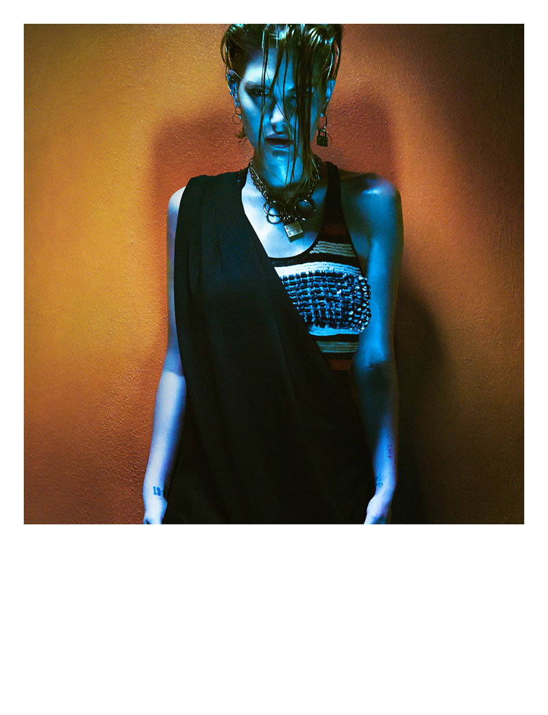 greg kadel shoot7 Night Call: Catherine McNeil Gets Dark for Greg Kadel in Numéro #151