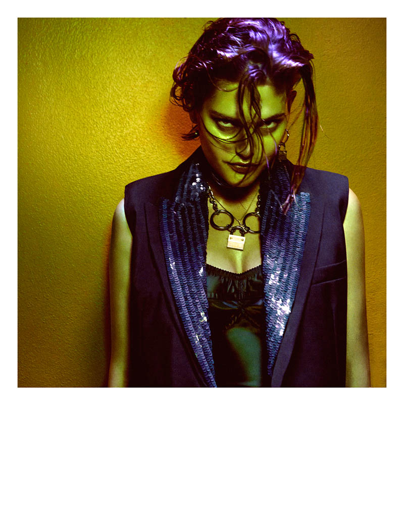 greg kadel shoot8 Night Call: Catherine McNeil Gets Dark for Greg Kadel in Numéro #151