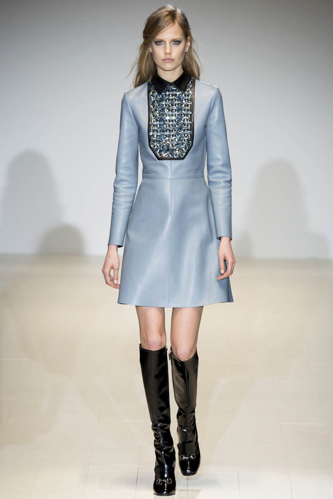 gucci fall winter 2014 show34 Top 5 Fall/Winter 2014 Trends From Paris, London, New York & Milan