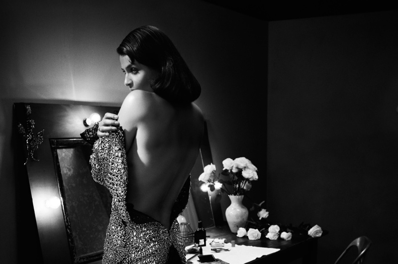 Helena Christensen Charms for Karen Collins in Vs. Magazine