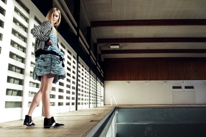 Henrietta Hellberg Gets Grand for Grazia UK by Nikolay Biryukov