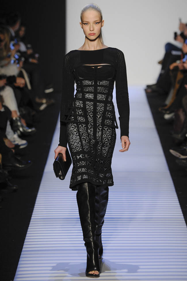 herve leger fall winter 2014 show1 Herve Leger by Max Azria Fall/Winter 2014 | New York Fashion Week
