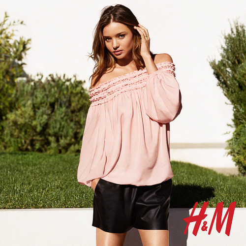 More Photos Surface from Miranda Kerr's Spring H&M Ads