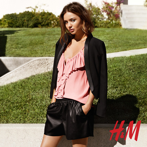 hm miranda kerr photos3 More Photos Surface from Miranda Kerrs Spring H&M Ads