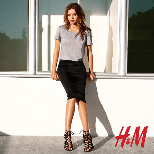 hm miranda kerr photos5 More Photos Surface from Miranda Kerrs Spring H&M Ads