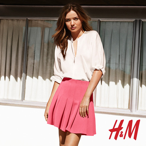 hm miranda kerr photos6 More Photos Surface from Miranda Kerrs Spring H&M Ads
