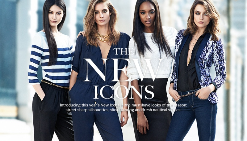 hm new icons models1 Nadja, Jourdan, Sui + Andreea Are H&Ms New Icons