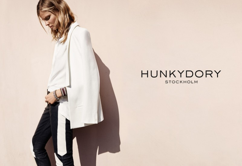 hunkydory spring 2014 campaign 2 800x550 Magdalena Frackowiak Fronts Hunkydory Spring 2014 Ads by Marcus Ohlsson