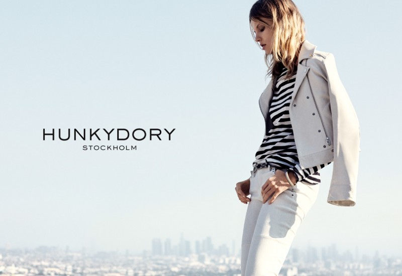 hunkydory spring 2014 campaign 3 800x550 Magdalena Frackowiak Fronts Hunkydory Spring 2014 Ads by Marcus Ohlsson