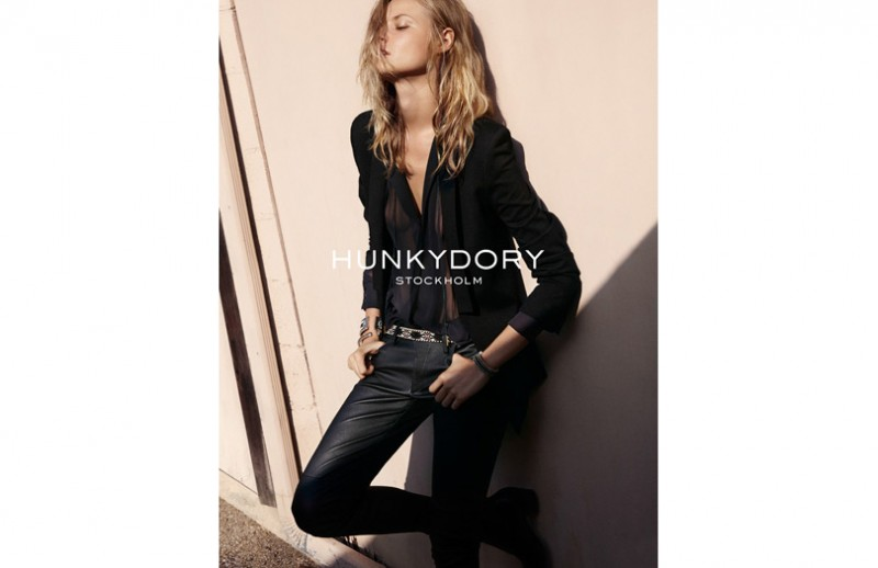 hunkydory spring 2014 campaign 4 800x518 Magdalena Frackowiak Fronts Hunkydory Spring 2014 Ads by Marcus Ohlsson