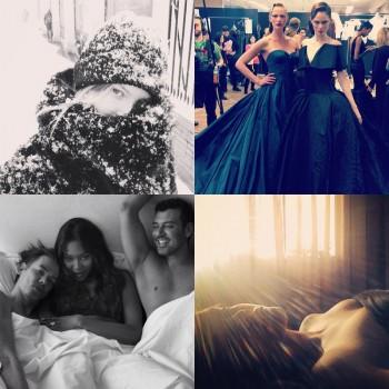 Instagram Photos of the Week   Anne V, Naomi Campell, Magdalena Frackowiak+ More Models