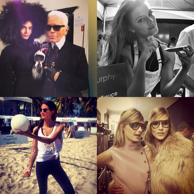 instagram fashion feb Instagram Photos of the Week | Lily Aldridge, Nina Agdal + More Models